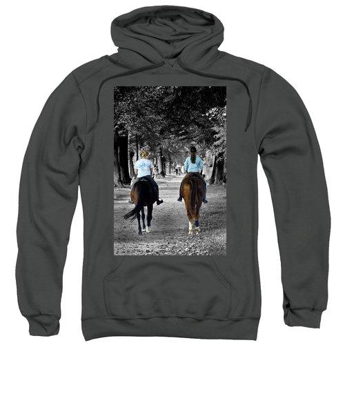 Horsback Rider In Hellbrunn Sweatshirt