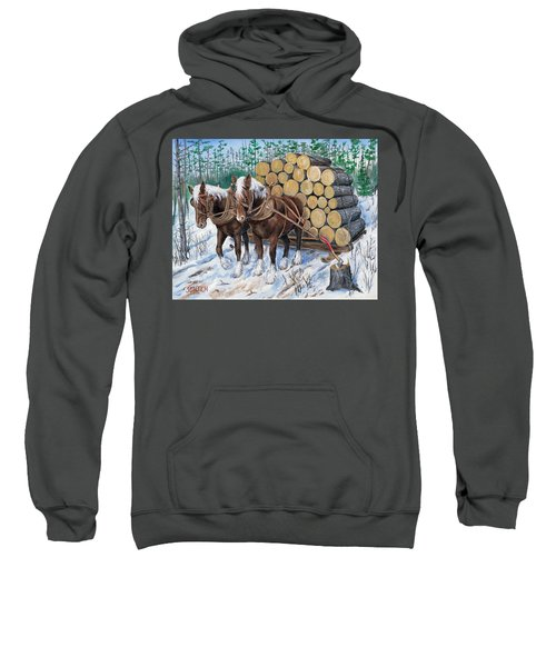 Horse Log Team Sweatshirt