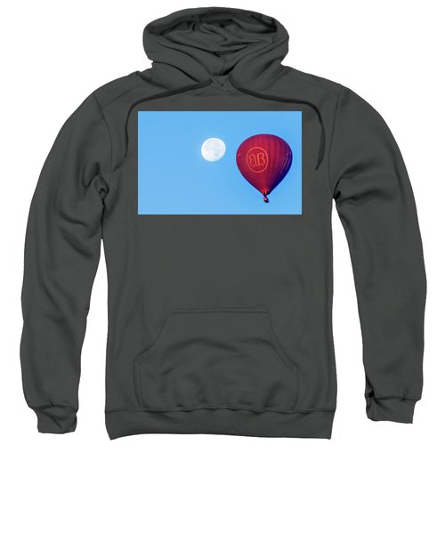 Hot Air Balloon And Moon Sweatshirt