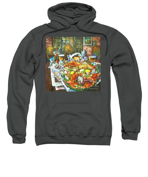 Hot Boiled Crabs Sweatshirt