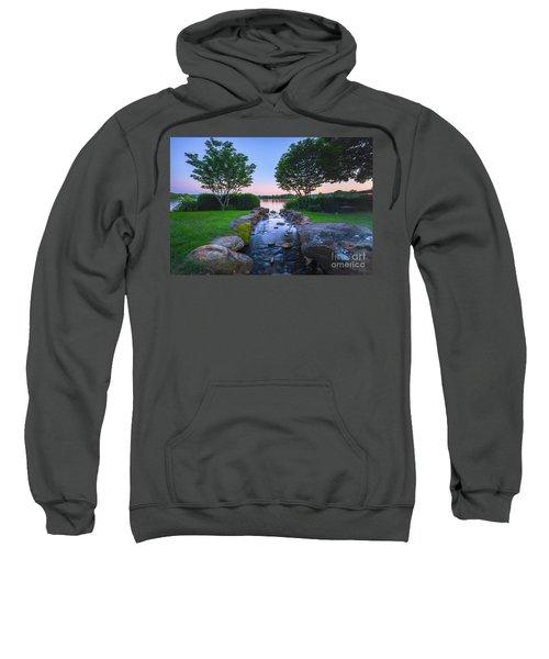 Hot Spring Water Flow Sweatshirt