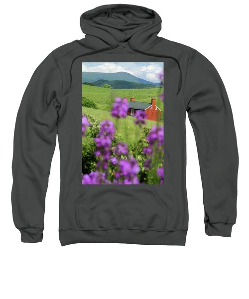 House On Virginia's Hills Sweatshirt