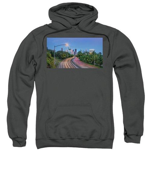 Houston Evening Cityscape Sweatshirt