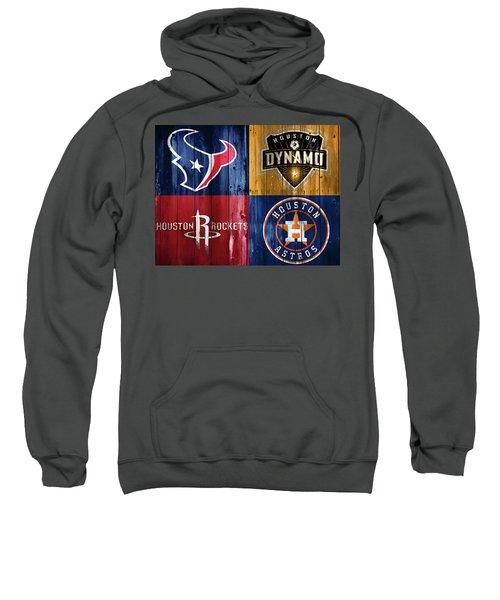 Houston Sports Teams Barn Door Sweatshirt