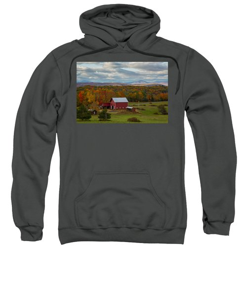 Hudson Valley Ny Fall Colors Sweatshirt
