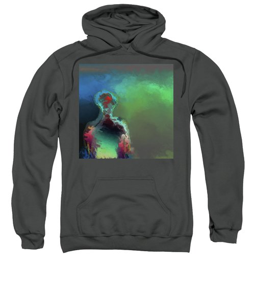 Humanoid In The Fifth Dimension Sweatshirt