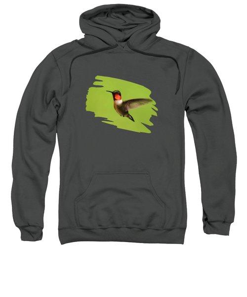 Hummingbird Defender Sweatshirt by Christina Rollo