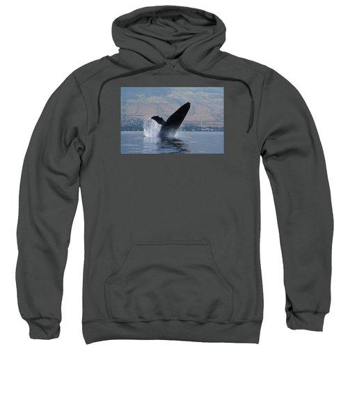 Humpback Whale Breach Sweatshirt