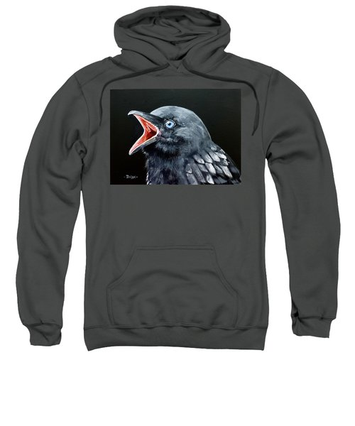 Hungry Baby Raven Sweatshirt