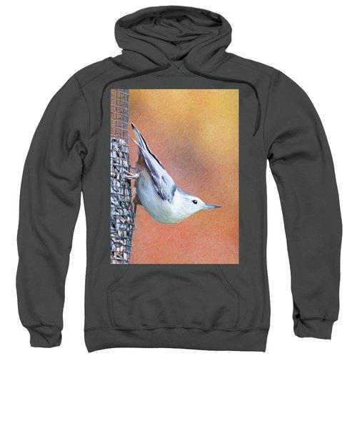 Hungry Nuthatch Sweatshirt