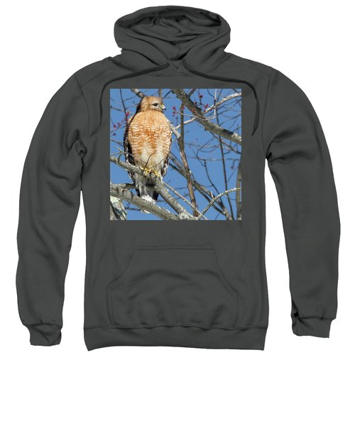 Sweatshirt featuring the photograph Hunter Square by Bill Wakeley