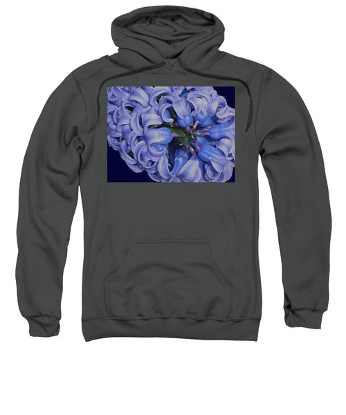 Hyacinth Curls Sweatshirt
