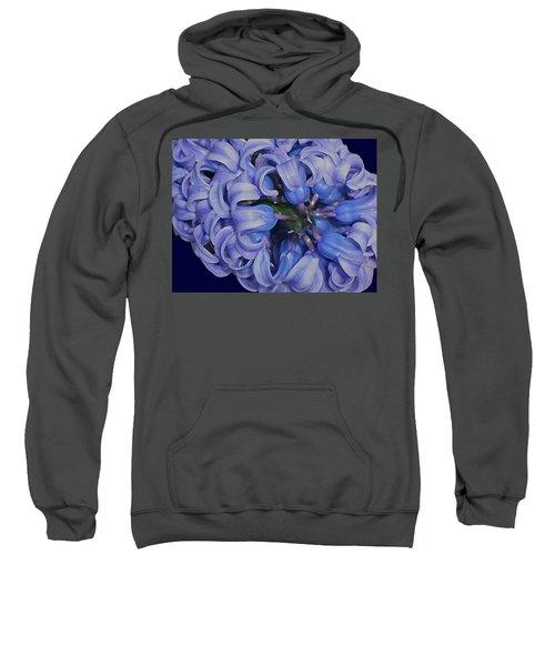 Hyacinth Curls Sweatshirt