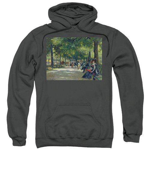 Hyde Park - London  Sweatshirt by Count Girolamo Pieri Nerli