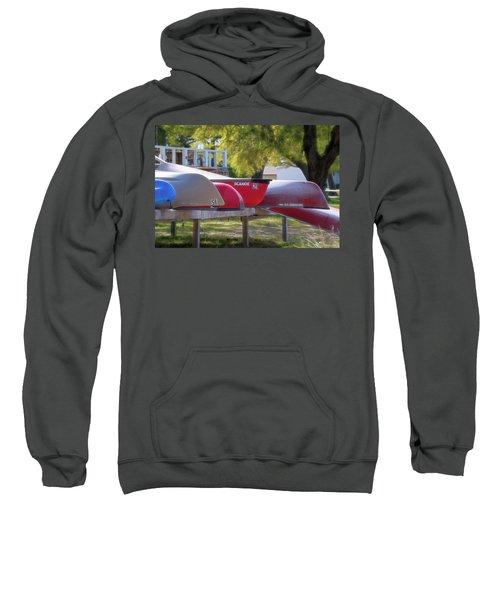 I Believe I'll Go Canoeing Sweatshirt