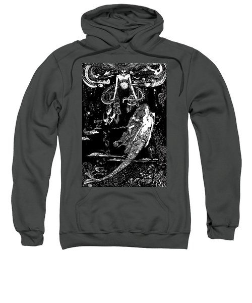 I Know What You Want Said The Sea Witch, Illustration For The Little Mermaid  Sweatshirt