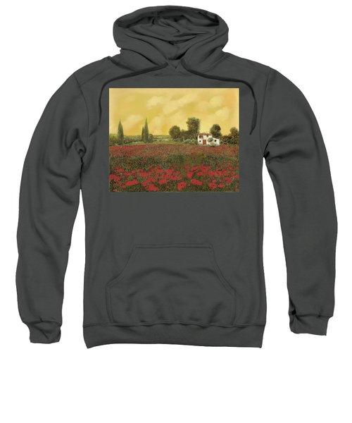 I Papaveri E La Calda Estate Sweatshirt