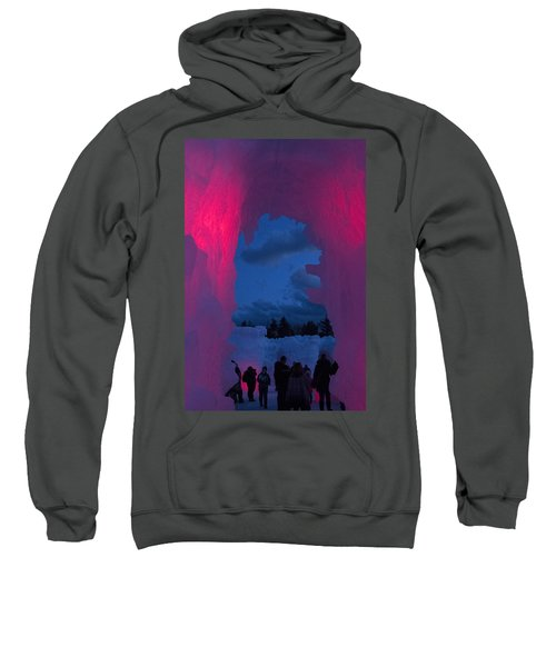 Ice And Colors  Sweatshirt