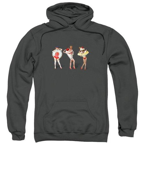 Ice Cream Woman 4 Sweatshirt