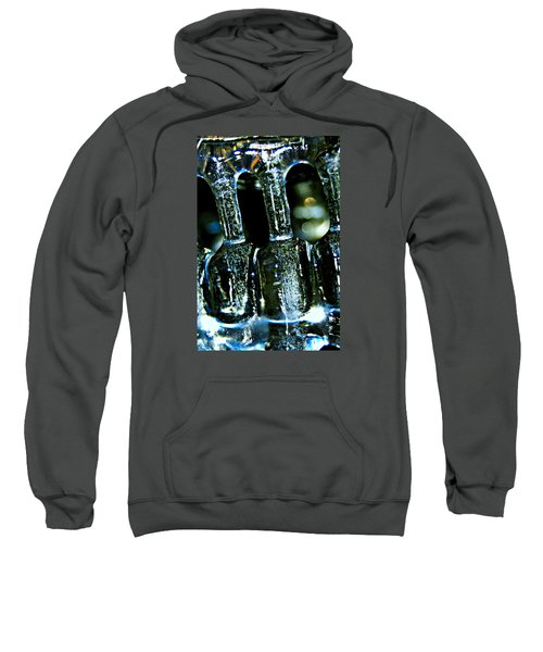 Ice Formation 02 Sweatshirt