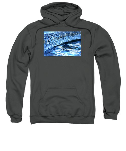 Ice Formation 08 Sweatshirt