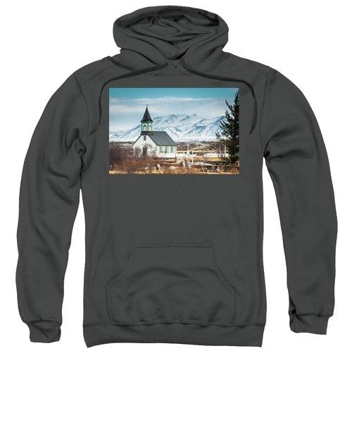 Icelandic Church, Thingvellir Sweatshirt
