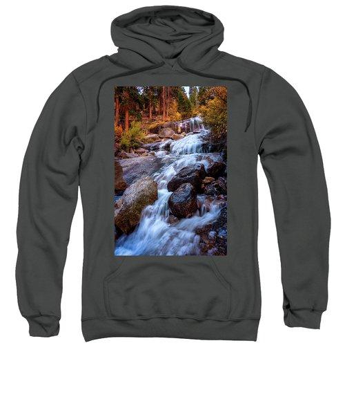 Icy Cascade Waterfalls Sweatshirt