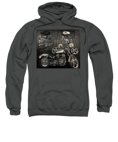 Sweatshirt featuring the photograph If Bling Is Your Thing by Randy Scherkenbach