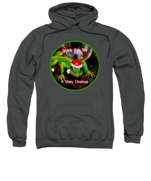 Iguana Wish You A Merry Christmas Sweatshirt