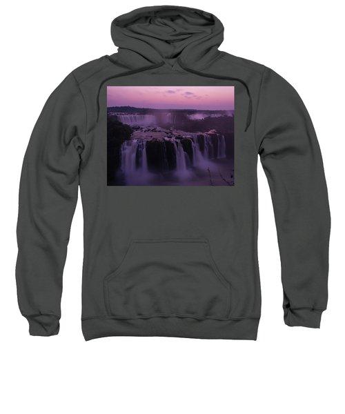 Iguazu Sunset In Violet Sweatshirt
