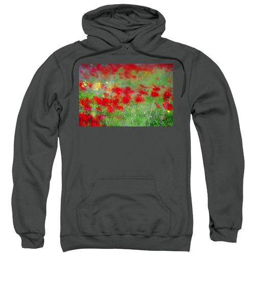 Impressionistic Blossom Near Shderot Sweatshirt