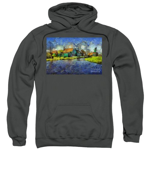 Impressions Of Zaanse Schans Sweatshirt