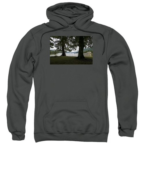 Sweatshirt featuring the photograph In Glencoe Uk by Dubi Roman