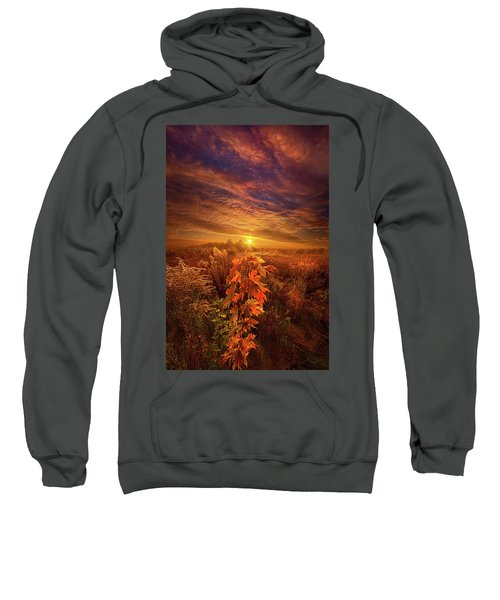 In Perfect Solitude There Is Grace Sweatshirt
