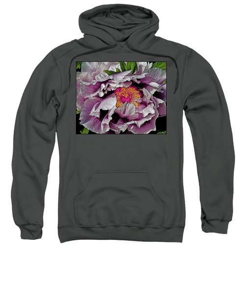 In The Eye Of The Peony Sweatshirt