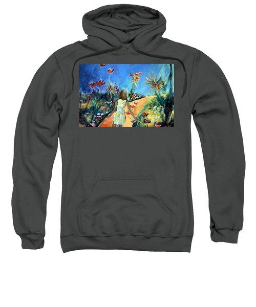 In The Garden Of Joy Sweatshirt by Winsome Gunning