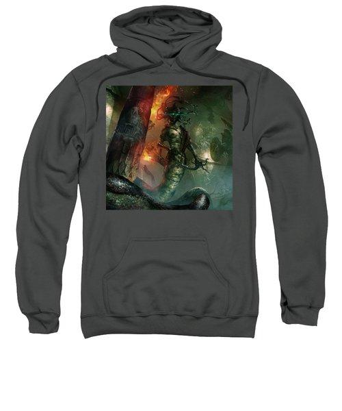 In The Lair Of The Gorgon Sweatshirt