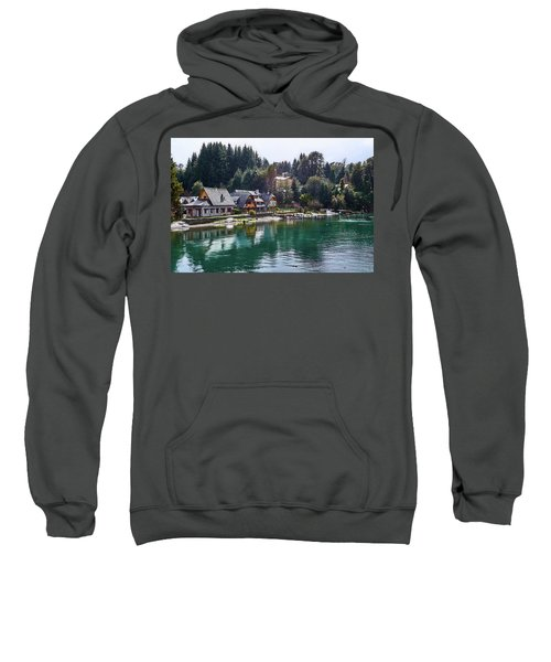 Rustic Museum In The Argentine Patagonia Sweatshirt