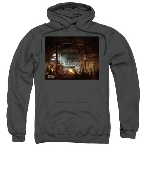 In The Name Of Odin Cover Art Sweatshirt