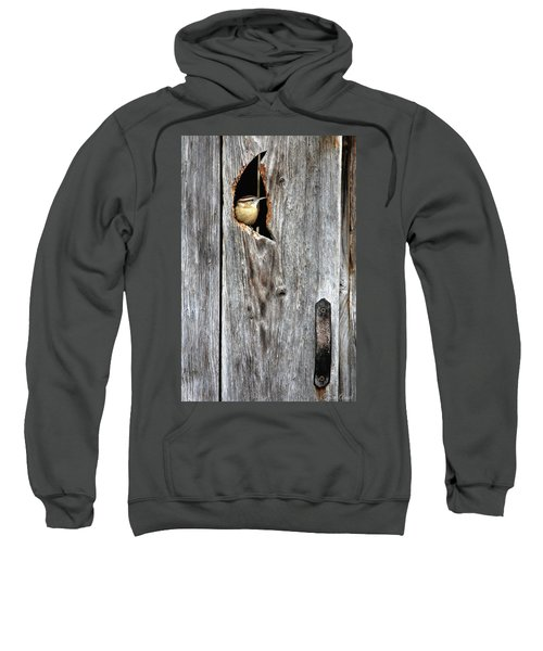 In The Outhouse Shed Sweatshirt