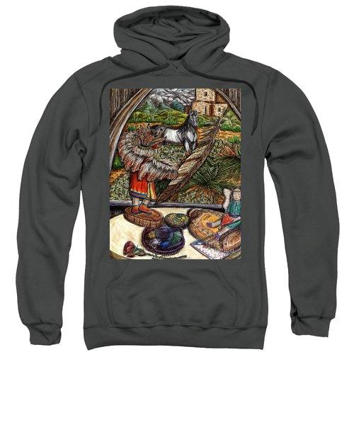 In Times Of Need Sweatshirt