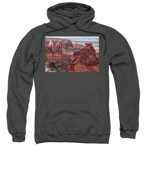 Independence Monument At Colorado National Monument Sweatshirt