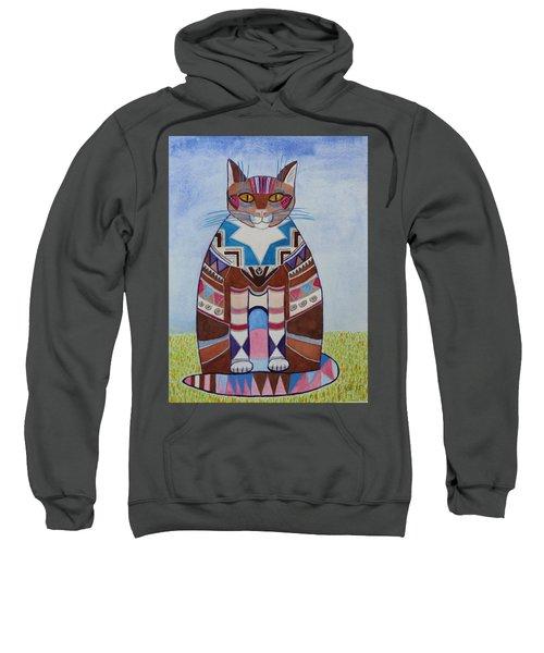 Indian Squirrel Cat Sweatshirt