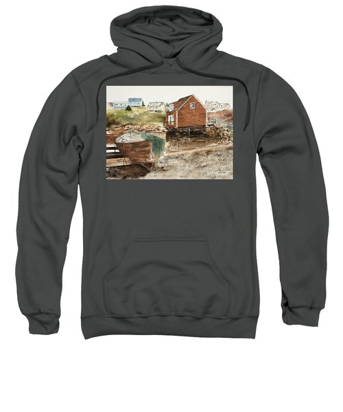 Inlet At Peggy's Cove Sweatshirt