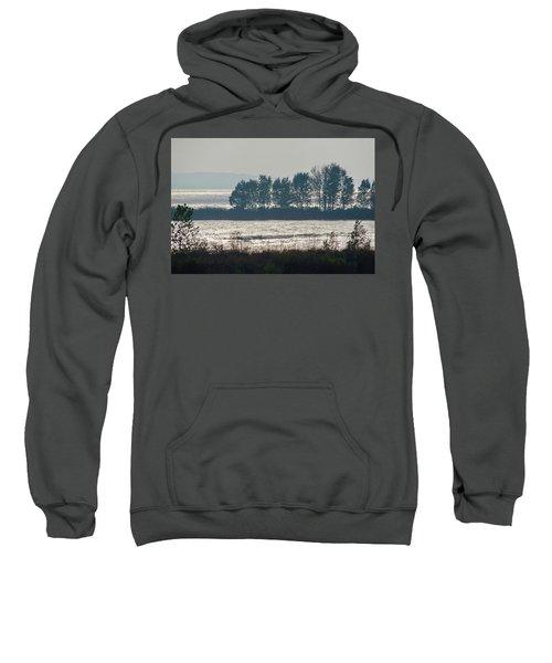 Inlet On Lake Michigan Sweatshirt