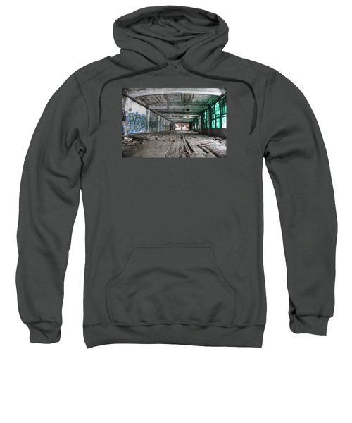 Inside Detroit Packard Plant  Sweatshirt