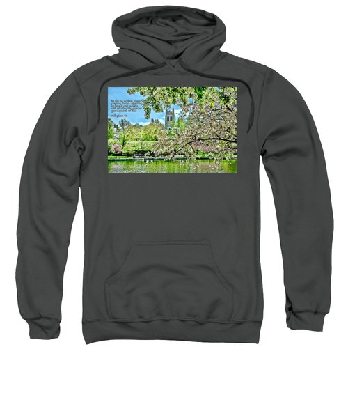 Inspirational - Cherry Blossoms Sweatshirt