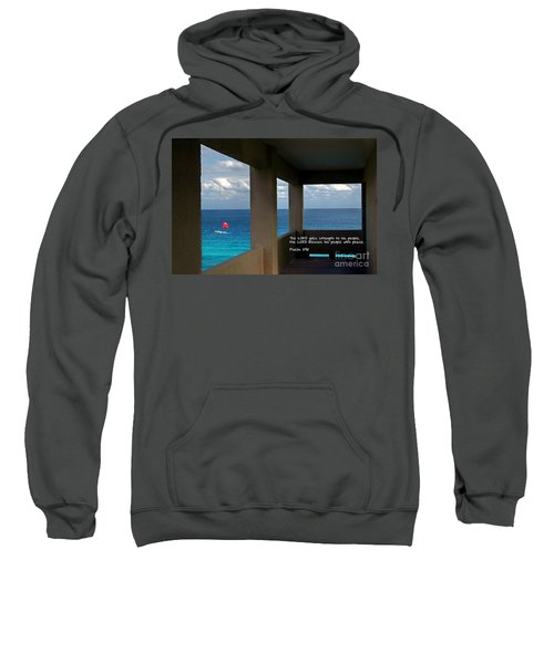 Inspirational - Picture Windows Sweatshirt