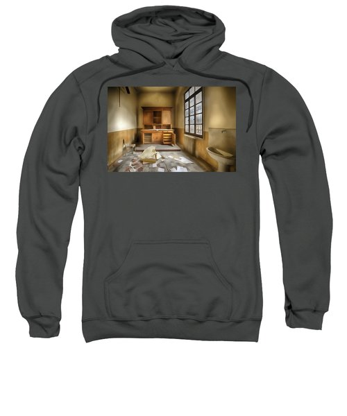 Interior Furniture Atmosphere Of Abandoned Places Dig Paint Sweatshirt