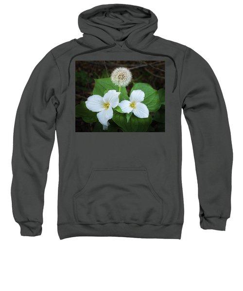 Sweatshirt featuring the photograph Interloper by Bill Pevlor